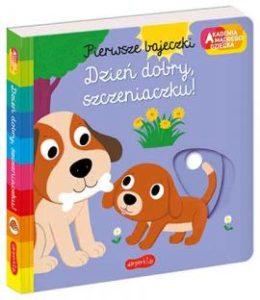 Książka dla dzieci Dzień dobry, szczeniaczku, wydawnictwo Harper Collins