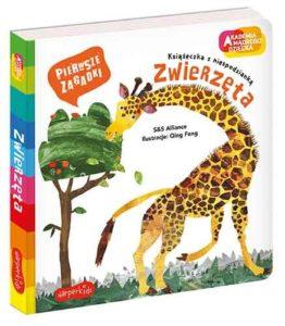 Książeczka dla dzieci Pierwsze zagadki - Zwierzęta wydawnictwo Harper Collins